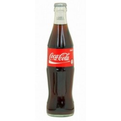 COCA COLA 24 bottles of 33 cl in returnable glass (deposit of 5.50 € included in the price)