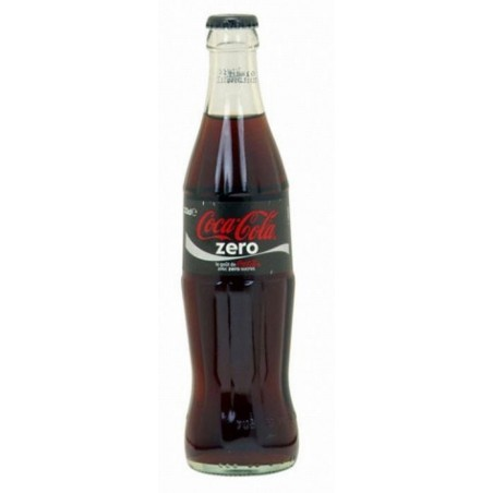 COCA COLA Zero 24 bottles of 33 cl in returnable glass (deposit of 5.50 € included in the price)