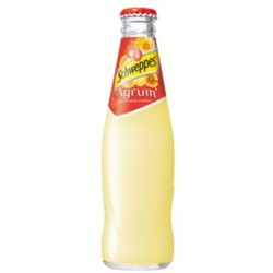 SCHWEPPES Agrum 24 bottles of 25 cl in returnable glass (deposit of 5.50 € included in the price)