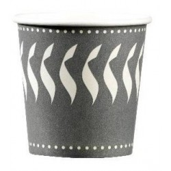 CARTON CUP for hot drink format CAFE 12 cl - the 50