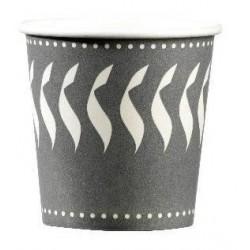Bicchiere di carta per la bevanda calda Formato CIOCCOLATO 20 cl - 50