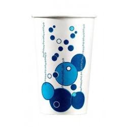 TAZA DE CARTÓN para bebida fría tamaño 53 cl con decoración - la 50