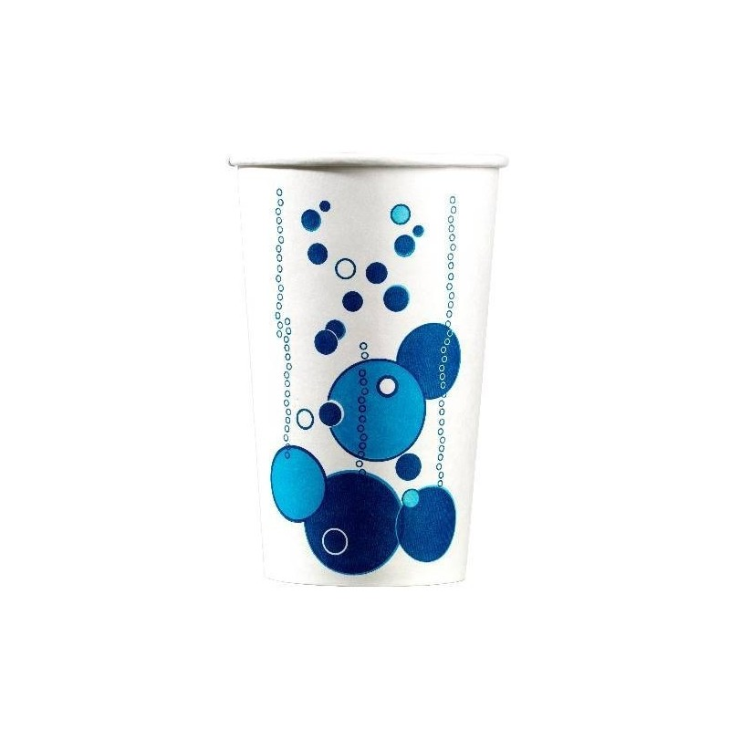 GOBELET en CARTON pour boisson froide format 53 cl avec décor - les 50
