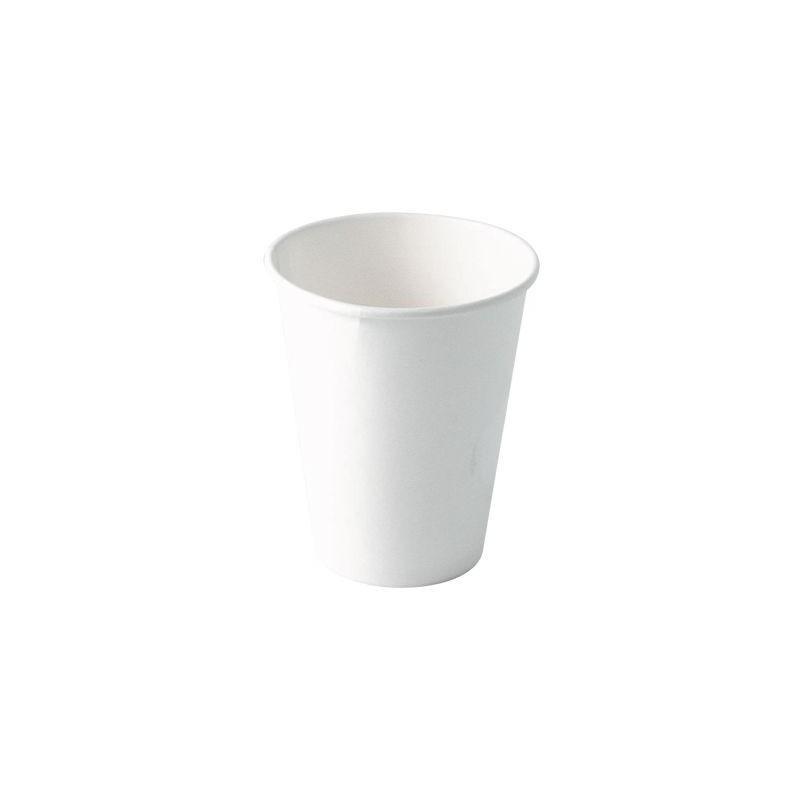 PAPPBECHER weißefür heiße und kalte Getränke der Größe 28 cl - 50