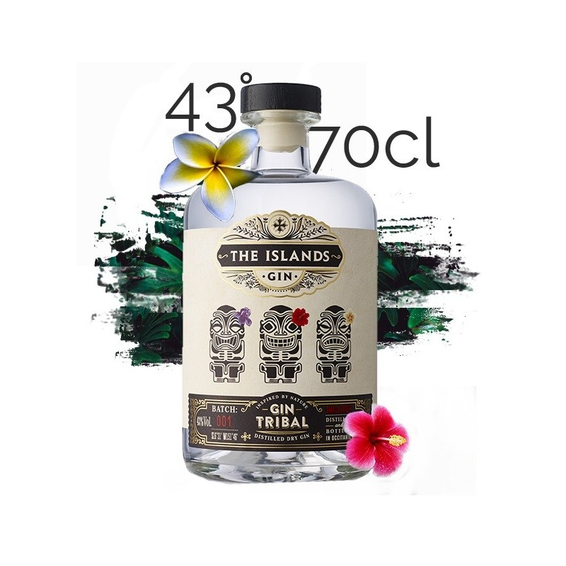 Tribal GIN The Islands Spirits 43° 70 cl