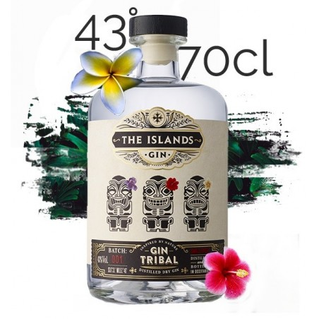 GIN Tribal The Islands Spirits 43° 70 cl