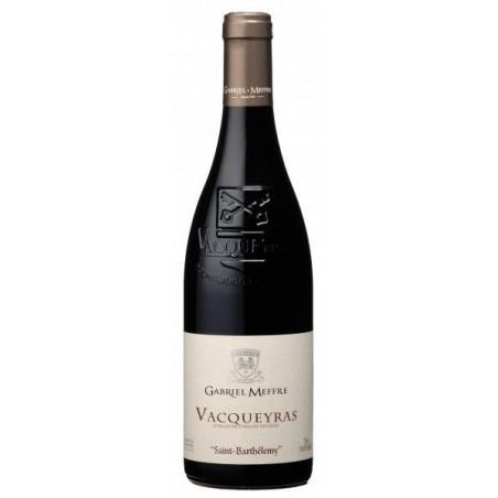 Saint Barthélemy Gabriel Meffre VACQUEYRAS Red Wine AOC 75 cl