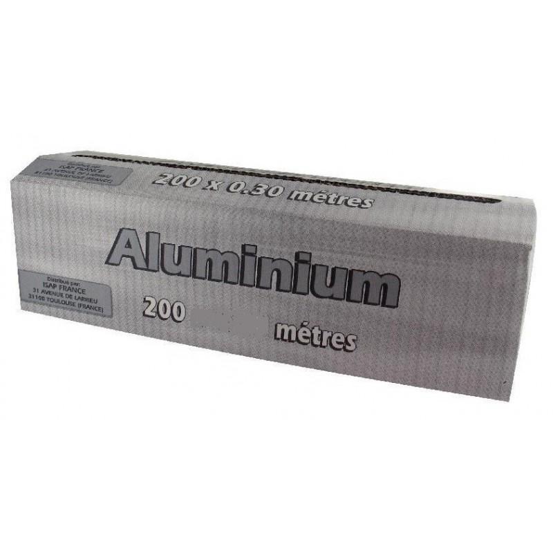 ALUMINIO 11μ con caja dispensadora 45 cm x 200 m - el rodillo