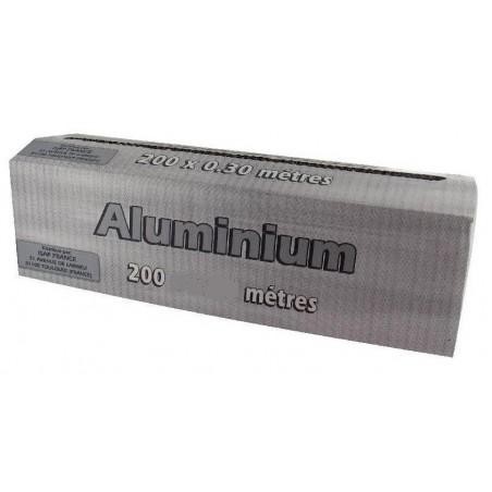 ALUMINIUM 11µ avec boite distributrice 45 cm x 200 m - le rouleau
