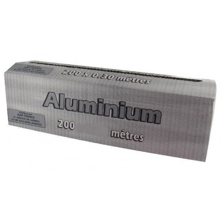 ALUMINUM 11μ with dispenser box 45 cm x 200 m - the roller
