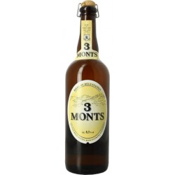 BEER 3 MONTS Blonde French 8.5 ° 75 cl