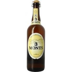 Bière 3 MONTS Blonde Française 8,5° 75 cl