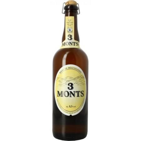 BIER 3 MONTE Blonde Französisch 8.5 ° 75 cl