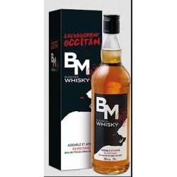 WHISKEY Black Mountain BM Blend 40 ° 70 cl French Occitan