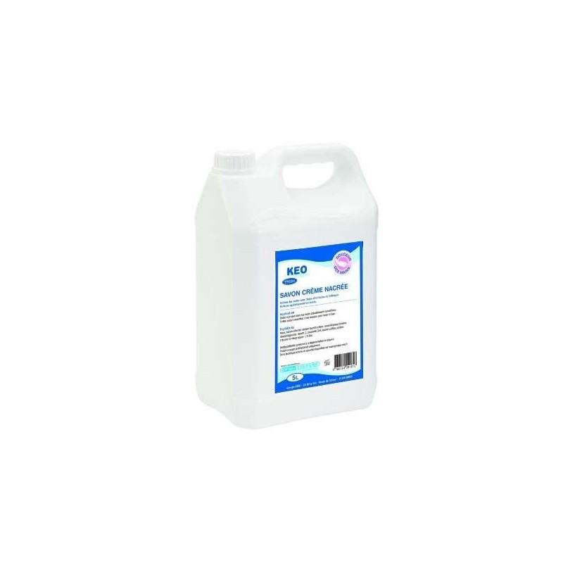 SAVON Crême Keo parfumé pour les mains Ecolabel - Bidon de 5 L