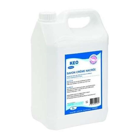 Crema SAPONE Keo profumata a mano Ecolabel - 5 L can
