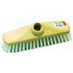 BRUSH BROOM 22 cm Nylon Deck Washer with integrated screw socket