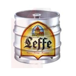 Cerveza LEFFE ABBAYE Rubio belga 6,6 ° barril 30 L (depósito de 30 EUR incluido en el precio)
