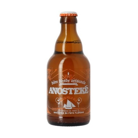Beer ANOSTEKE IPA Blonde French 6 ° 33 cl