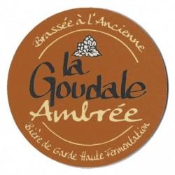 Bière GOUDALE Ambrée Française 6.1° fût de 20 L (30 EUR de consigne comprise dans le prix)