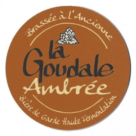 GOUDALE Beer Ambrée Française 6.1 ° barrel of 20 L (30 EUR deposit included in the price)