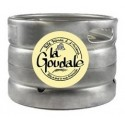 Bière GOUDALE Blonde Française 7.2° fût de 20 L (30 EUR de consigne comprise dans le prix)