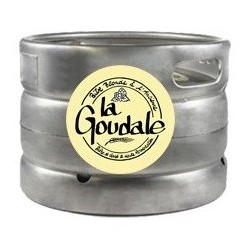 Bier GOUDALE Blonde Französisch 7,2 ° Barrel 20 L (30 EUR Kaution im Preis enthalten)