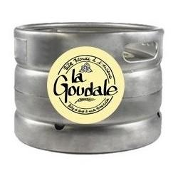 Birra GOUDALE Bionda francese 7,2 ° barile di 20 L (30 EUR di deposito incluso nel prezzo)