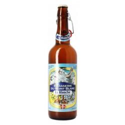Bière MONT BLANC LA BLANCHE Blanche France 4.7° 75 cl