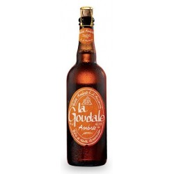 GOUDALE Birra Ambrata francese 7.2 ° 75 cl