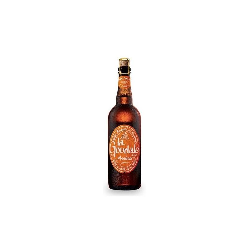 Bière GOUDALE Ambrée Française 7.2° 75 cl