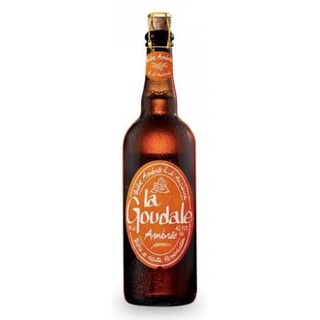 Cerveza GOUDALE Ambrée francesa 7.2 ° 75 cl
