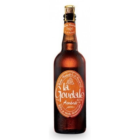 GOUDALE Beer French Ambrée 7.2 ° 75 cl