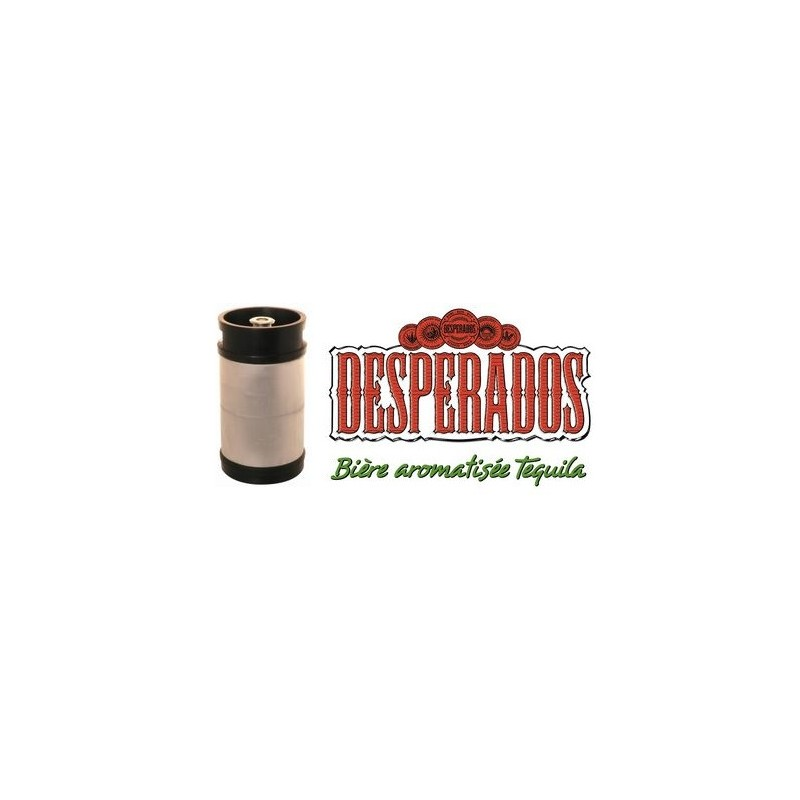 Beer Desperados Blonde French 5 9 Barrel 20 L Pointed Head
