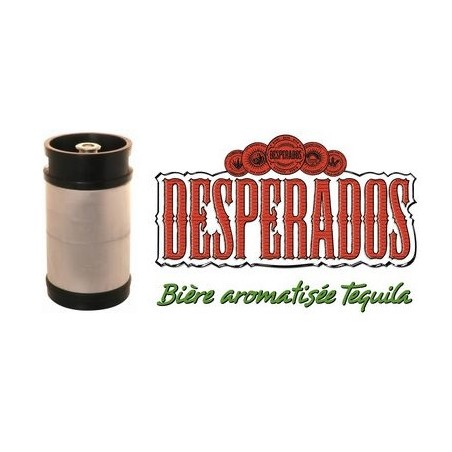 BEER DESPERADOS Blonde French 5.9 ° barrel 20 L pointed head (30 EUR deposit included in the price)