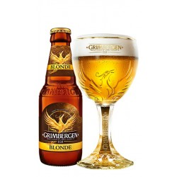 Bier GRIMBERGEN Blond Belgier 6.7 ° 25 cl