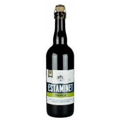 BEER ESTAMINET Triple French 7 ° 75 cl