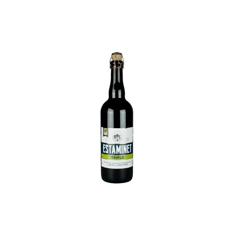 Bière ESTAMINET Triple Française 7° 75 cl