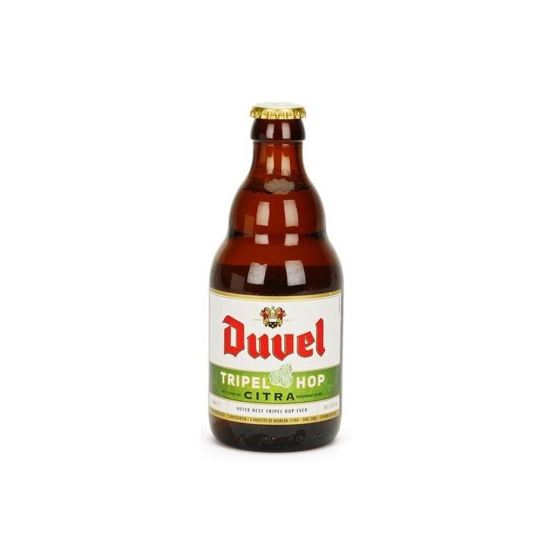 Bier DUVEL TRIPEL HOP CITRA Triple Belgien 9,5 ° 33 cl