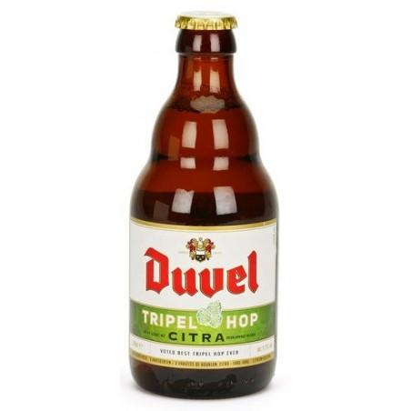 Cerveza DUVEL TRIPEL HOP CITRA Triple Bélgica 9.5 ° 33 cl