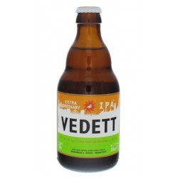 Bière VEDETT EXTRAORDINARY Blonde Belgique IPA 5,5° 33 cl