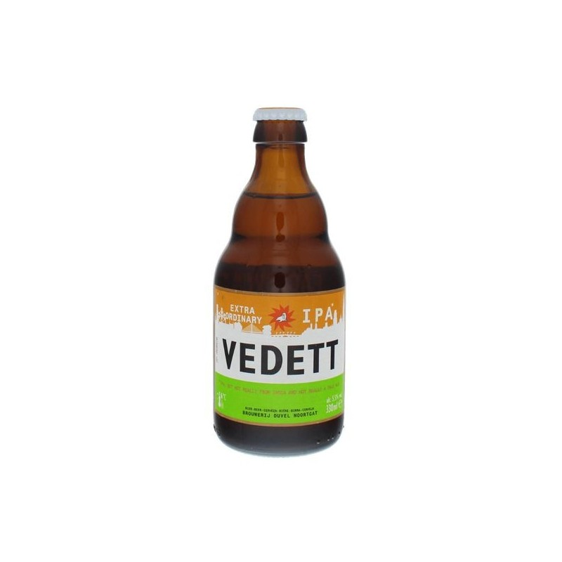 Beer VEDETT EXTRAORDINARY Blonde Belgium IPA 5.5 ° 33 cl