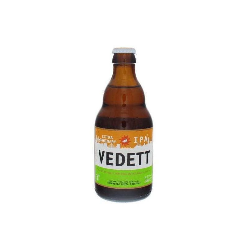 Cerveza VEDETT EXTRAORDINARIA Rubia Bélgica IPA 5.5 ° 33 cl