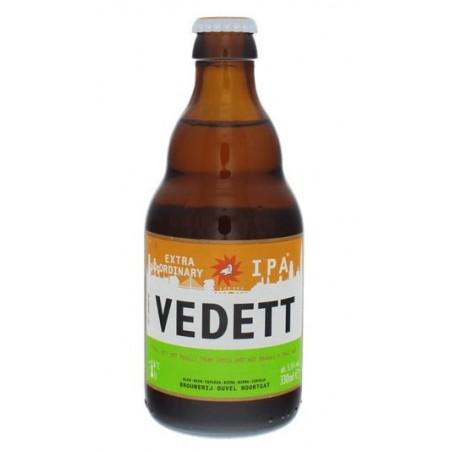 Beer VEDETT EXTRAORDINARY Blonde Belgium IPA 5.5 ° 33 cl