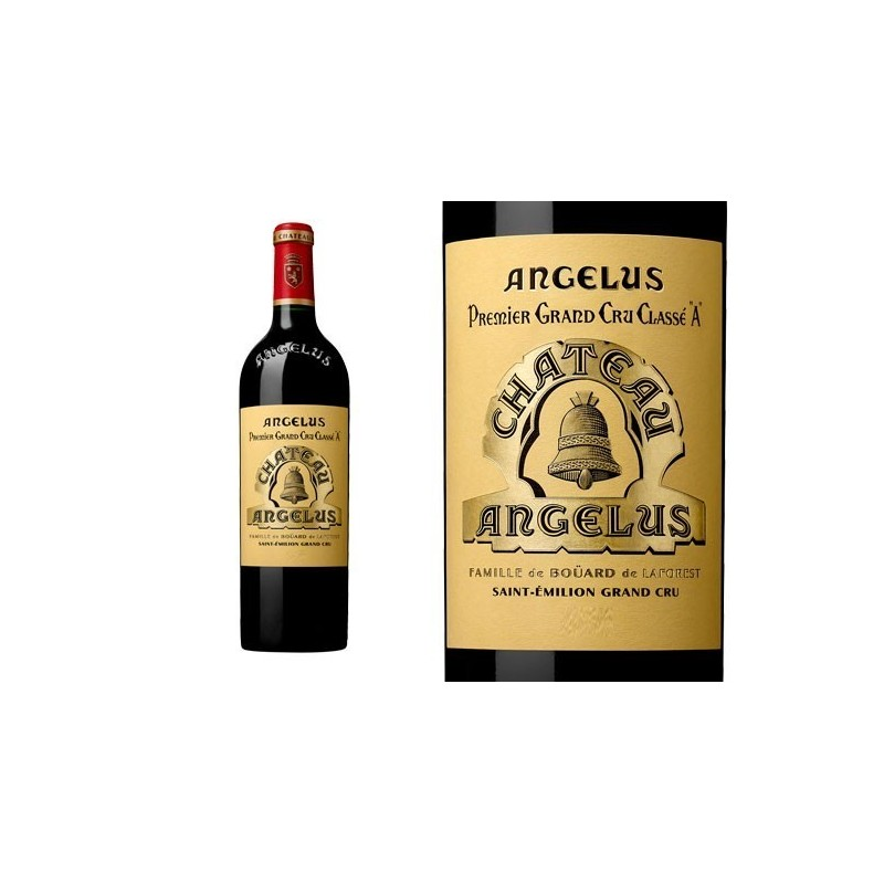 Château Angelus 2013 1erGCC SAINT EMILION GRAND CRU classified A Red Wine PDO 75 cl
