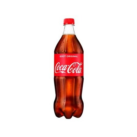 COCA-COLA mascota de botella de plástico 1 L