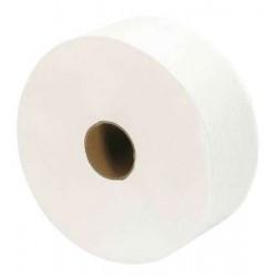 Hygienisches Papier Maxi Jumbo 2 Lagen 270 m vorgespannt - die Rolle