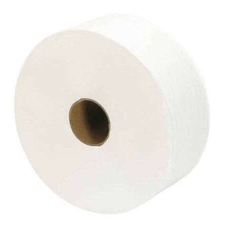 Toilet paper Maxi Jumbo 2 ply 270 m pre-cut - the reel