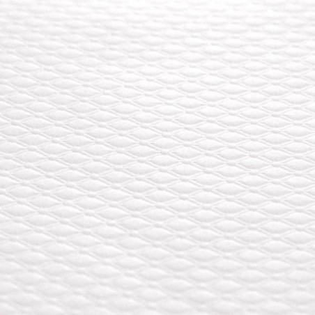 White tablecloth in embossed paper 80 x 120 cm - the 250