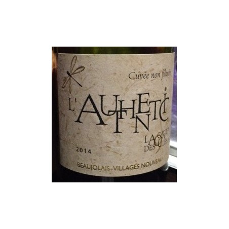 The Authentic Cave 9 Keys BEAUJOLAIS Villages New Red Wine AOC 75 cl